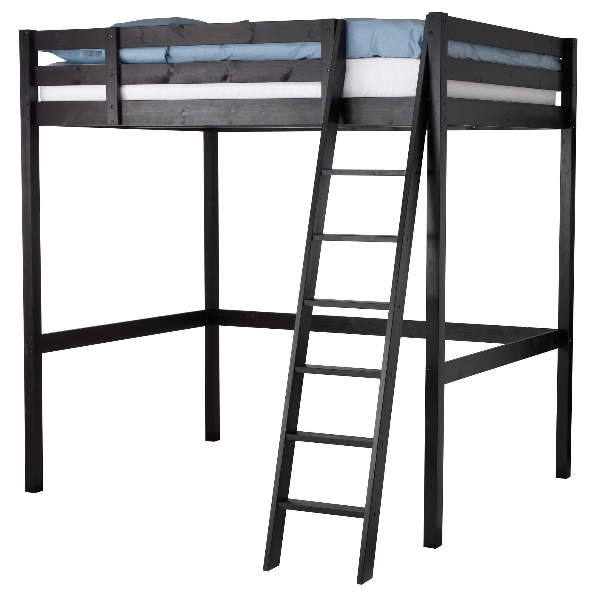 Stor estructura cama alta for Estructura de cama alta ikea