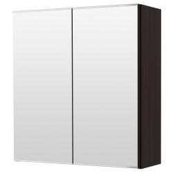 LILLÅNGEN Armario con espejo, 2 puertas 60