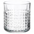 FRASERA Vaso para whisky, vidrio con relieve, 30cl