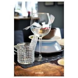 FRASERA Vaso de vidrio para whisky, 10 oz