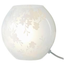 KNUBBIG Lámpara de mesa 18 blanco