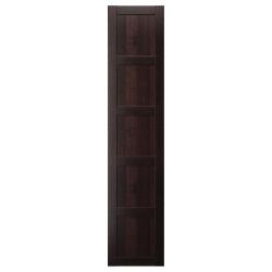 PAX BERGSBO Puerta 50x229cm, negro-marrón
