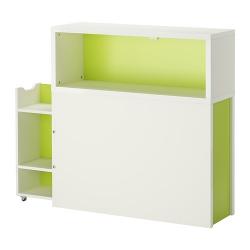 FLAXA Cabecero con compartimento
