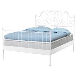 1 x LEIRVIK Laterales de cama Queen/King