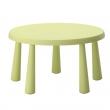 MAMMUT Mesa redonda para niños verde claro