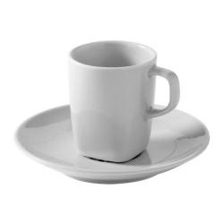 VÄRDERA Taza/plato espresso