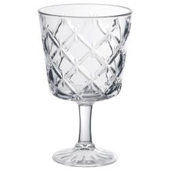 FLIMRA Copa de vino, vidrio con relieve, 23cl