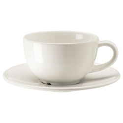 VARDAGEN Taza café/plato, 14 cl