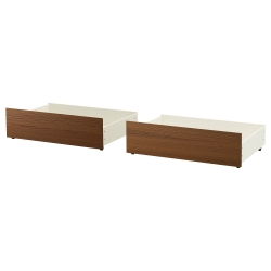 1 x MALM Bed storage box Queen/King