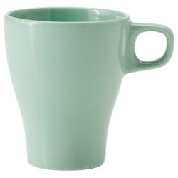 FÄRGRIK Taza de cerámica verde claro, 8.5 oz
