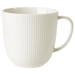 OFANTLIGT Taza de porcelana, 31 cl