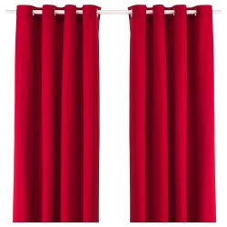 MERETE Curtains, 1 pair