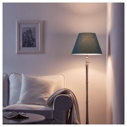 OLLSTA Pantalla para lámpara azul 42 cm