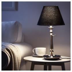 OLLSTA Pantalla para lámpara gris oscuro 27 cm