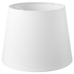JÄRA Pantalla para lámpara blanco 25 cm