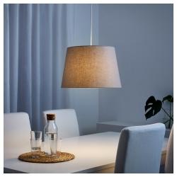 JÄRA Pantalla para lámpara beige 44 cm