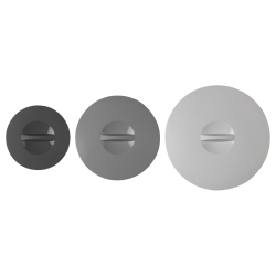 KLOCKREN Lid, set of 3