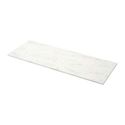 EKBACKEN Encimera blanco efecto mármol