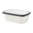 IKEA 365+ Recipiente plástico con tapa, 2lt