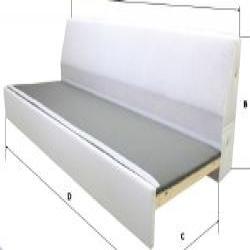 1 x RÅTORP Estructura módulo sofá 3 plazas