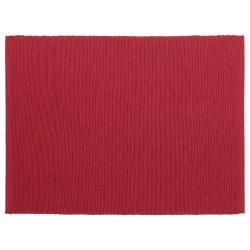 MÄRIT Mantel individual, rojo oscuro