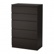 KULLEN Chest of 5 drawers