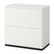 GALANT Drawer unit with drop-file storage