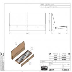 1 x LIDHULT Struc mód3