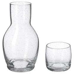 TÄNKVÄRD Garrafa con vaso