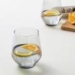 IVRIG Juego de 4 vasos de vidrio, 45cl