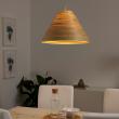 ILSBO Pantalla para lámpara de techo bambú 45 cm
