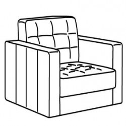 MORABO Armazón de sillón