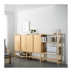 IVAR 3 secciones/estantes/armario