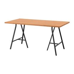 GERTON/LERBERG Mesa de escritorio 155x75 cm