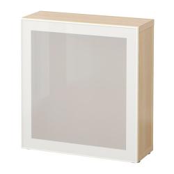 BESTÅ Estante con puerta de vidrio