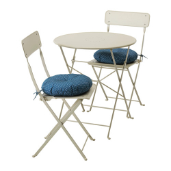 SALTHOLMEN Mesa+ 2 sillas plegables, exterior
