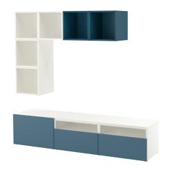 BESTÅ/EKET Combinación de armario para TV
