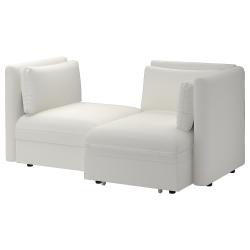 VALLENTUNA Sofá modular 2 con sofá cama