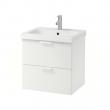 GODMORGON/ODENSVIK Armario para lavamanos+2 gavetas