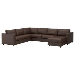 Corner sofa-bed, 5-seat