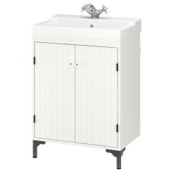 SILVERÅN/TÄLLEVIKEN Armario para lavamanos+2 puertas