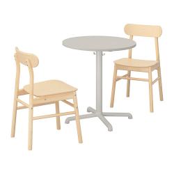 STENSELE/RÖNNINGE Mesa y dos sillas