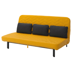 NYHAMN Sofa-bed with triple cushion