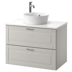GODMORGON/TOLKEN/KATTEVIK Mueble/lavabo +encimera40