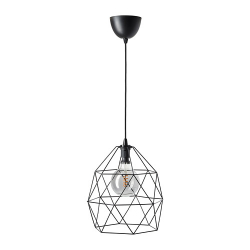 Pendant lamp with light bulb