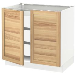 SEKTION/MAXIMERA Base cabinet w 2 doors/3 drawers