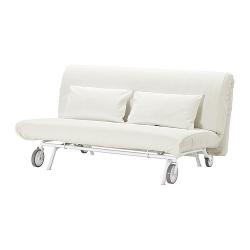IKEA PS MURBO Sofá cama 2 plazas colchón espuma firme