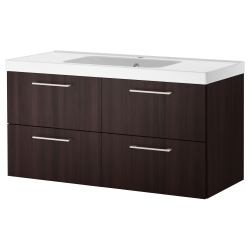 GODMORGON/ODENSVIK Wash-stand with 4 drawers