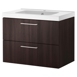 GODMORGON/ODENSVIK Clóset lavamanos con 2 cajones