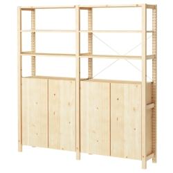 IVAR 2 secciones/baldas/armario
